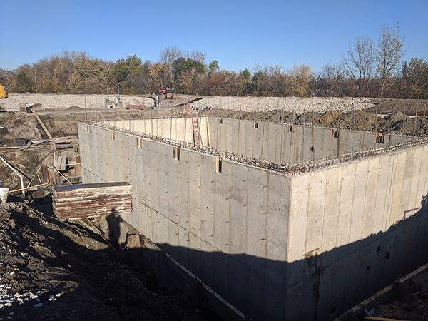 Dewatering Building Walls