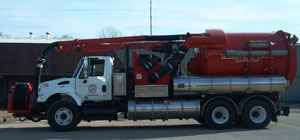 Sewer Maintenance Truck