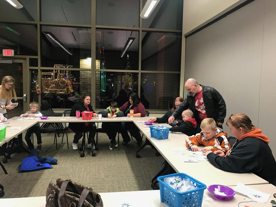 FOL library crafts event 2018