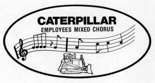Caterpillar Employees Mixed Chorus Logo